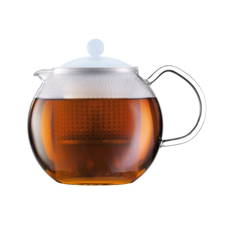 Bodum Assam Tea press, 1 Litre, Blue Moon