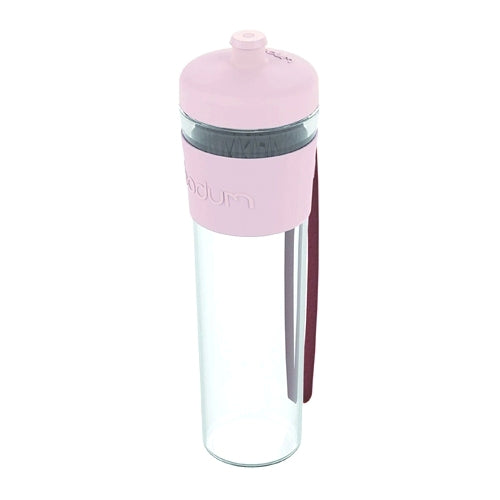 Bodum Bistro Water Bottle, 0.5l, Strawberry