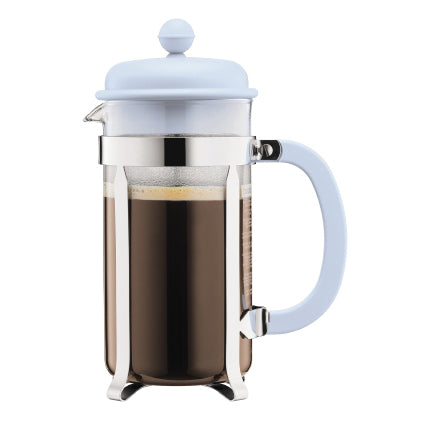 Bodum Caffettiera Coffee Maker, 8 Cup, Blue Moon