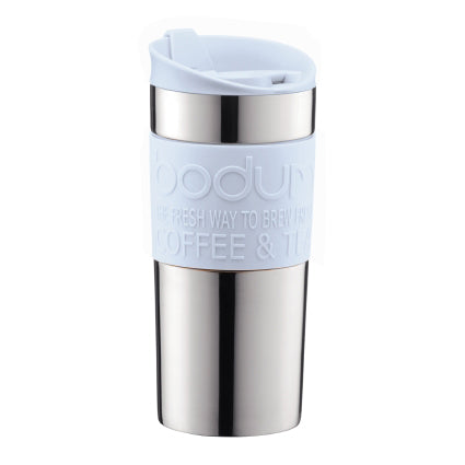 Bodum Double Walled Travel Mug, 12oz, Blue Moon