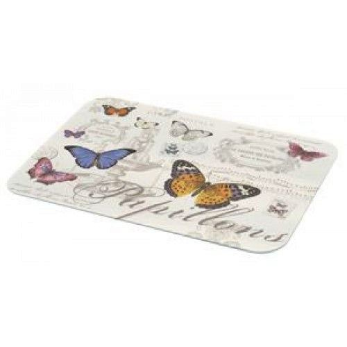 Glass Worktop Saver, Butterfly, Medium