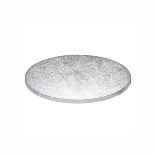 "Round Cake Board, Deep, 11"", Silver"