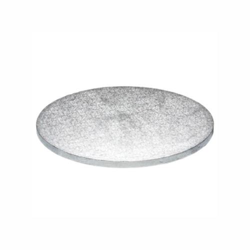 "Round Cake Board, Deep, 12"", Silver"