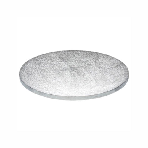 "Round Cake Board, Deep, 13"", Silver"