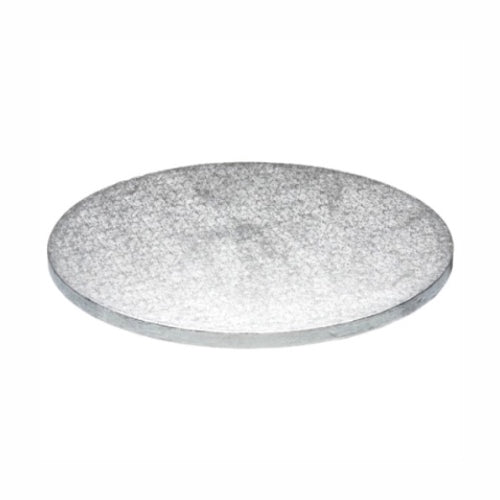 "Round Cake Board, Deep, 15"", Silver"