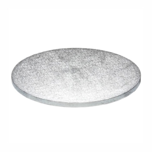 "Round Cake Board, Deep, 16"", Silver"