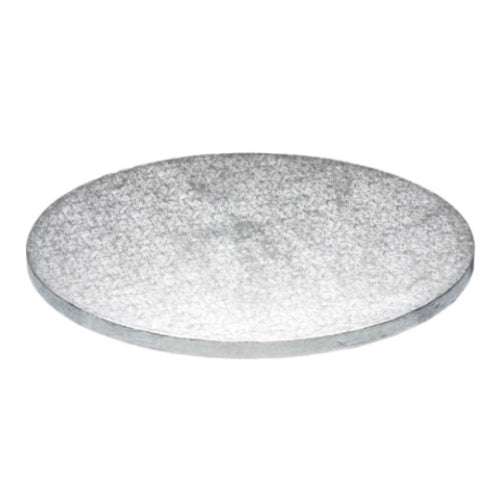 "Round Cake Board, Deep, 18"", Silver"