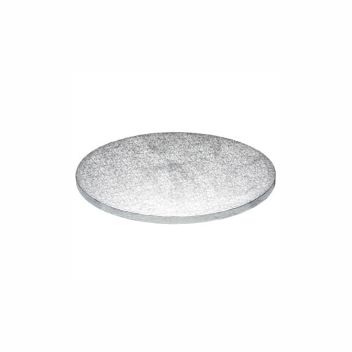 "Round Cake Board, Deep, 6"", Silver"