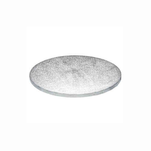 "Round Cake Board, Deep, 8"", Silver"