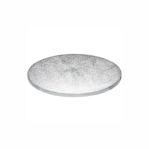 "Round Cake Board, Deep, 9"", Silver"