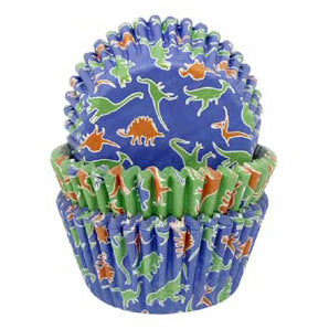 Cupcake Cases, Pack of 75, Dinosaur