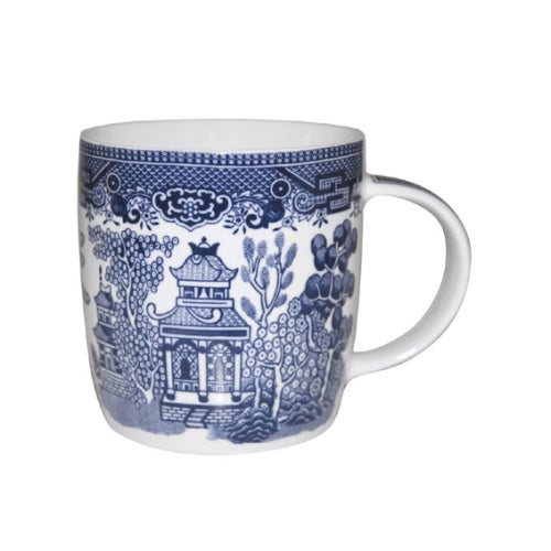 Churchill Blue Willow Pattern Dream Mug, 340ml