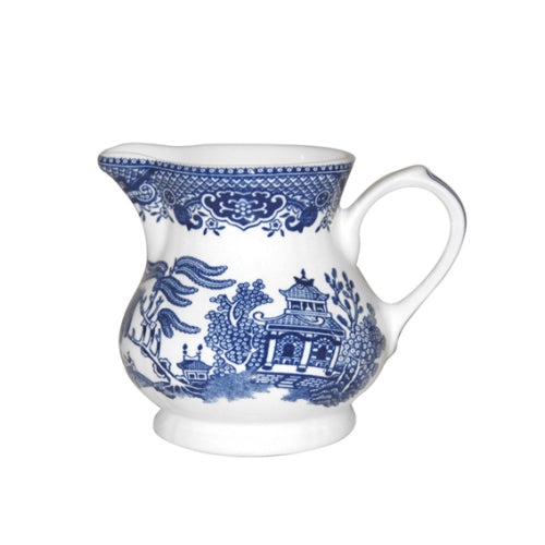 Churchill Blue Willow Pattern Cream Jug, 230ml
