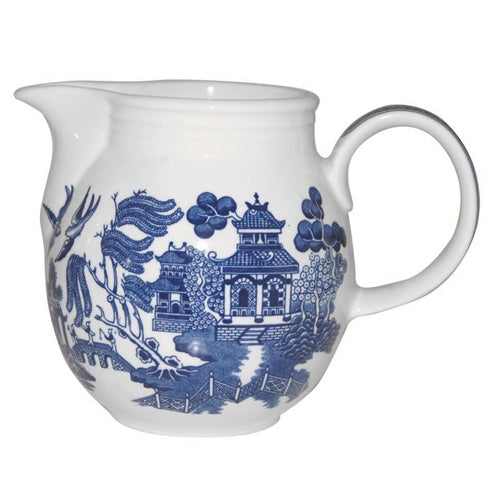 Churchill Blue Willow Pattern Milk Jug Savoy, 850ml
