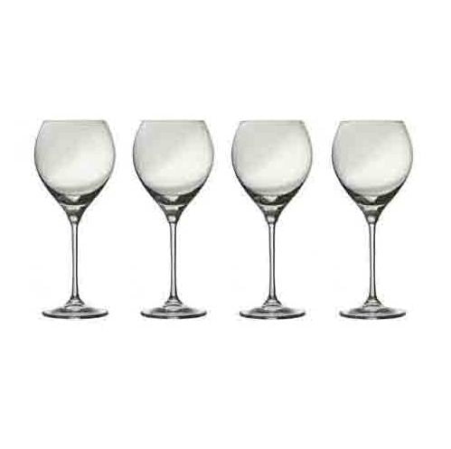 Galway Crystal Clarity Red Wine, Set of 4
