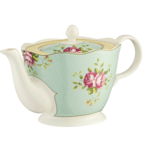 Aynsley Archive Rose Teapot