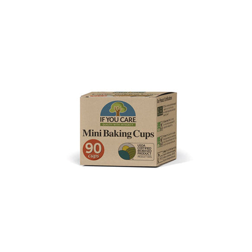 Compostable Unbleached Baking Cases, Mini, 90