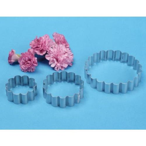 PME Carnation Cutters, Set Of 3