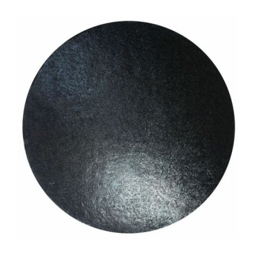 "Round Cake Board, Deep, 12"", Black"