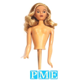 Doll Pick Cake Topper, Blonde