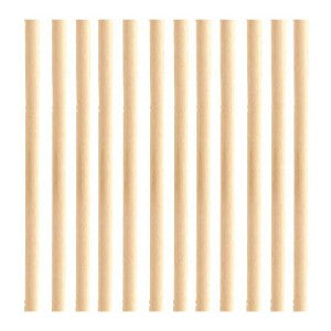 "PME Bamboo Dowel Rods, 12"", Pack Of 12 (DR1007)"
