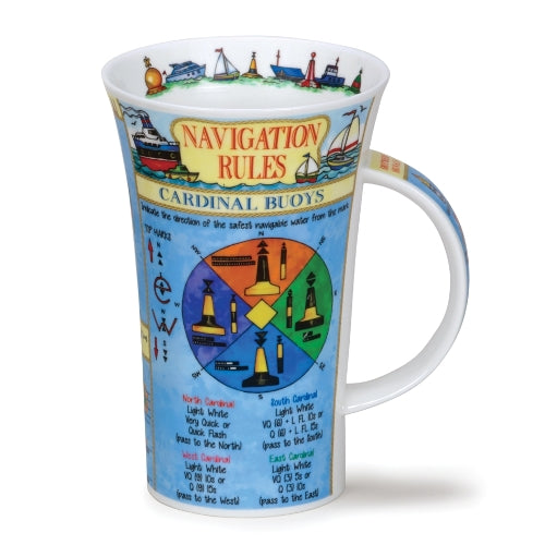 Dunoon Glencoe Fine Bone China Mug, Navigation Rules