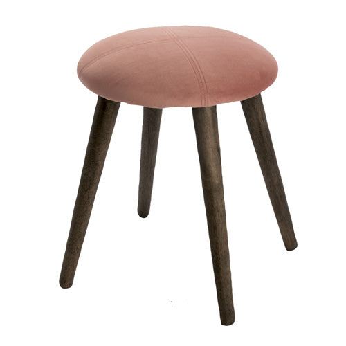 NEW YORK FOOT STOOL, DUSTY ROSE