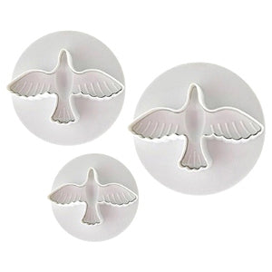 PME Dove Plunger Cutters, Set Of 3