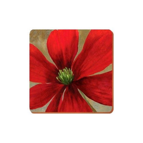 Flower Study Coasters, Set Of 6