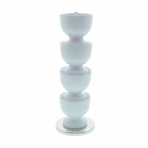 Zeal Funky Melamine Stacking Egg Cup Set, Blue