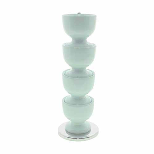 Zeal Funky Melamine Stacking Egg Cup Set, Green