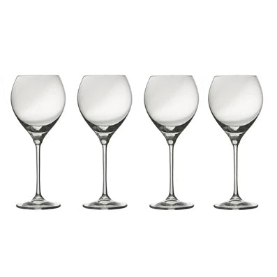 Galway Crystal Clarity White Wine, Set of 4