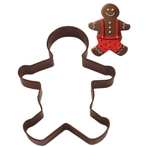 Large Gingerbread Boy Cookie Cutter, 13cm