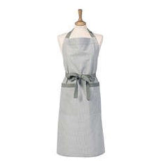Walton & Co Mini Gingham Apron, Grey