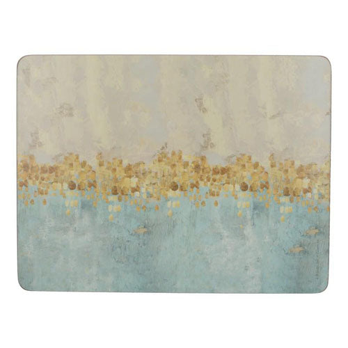 'Golden Reflections' Placemats, Set Of 6