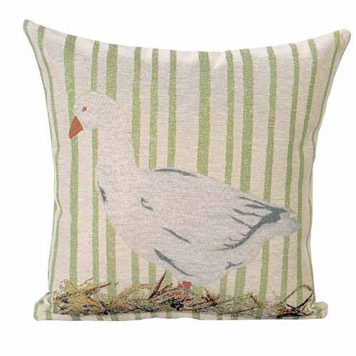 Goose Poly Filled Cushion, 45cm