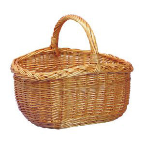 High Sided Willow Basket