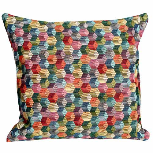Honeycomb Poly Filled Cushion, 45cm