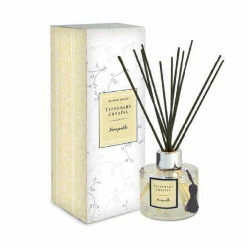 Tipperary Crystal Diffuser Set, Honeysuckle
