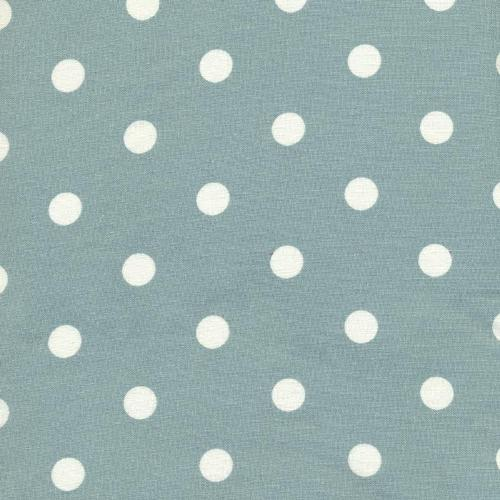 A.U Maison Big Dots Oilcloth, Ice Green, PER METRE