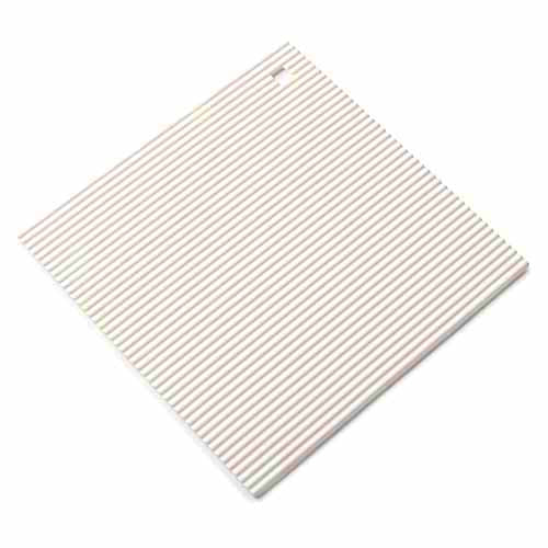 Zeal Surface Shield Silicone Hot Mat, Cream