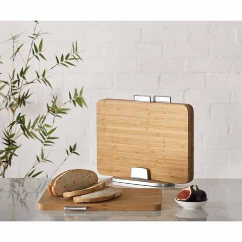 Joseph Joseph Index Bamboo Set Of 3 Chopping Boards