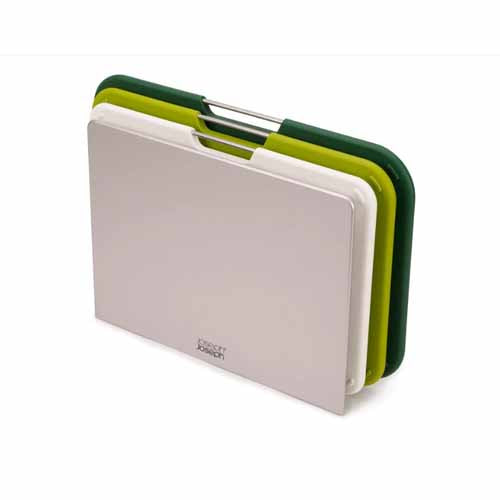 Joseph Joseph Nest™ Boards Chopping Board Set Of 3, Regular, Green