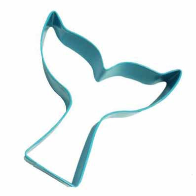 Blue Mermaid Tail Cookie Cutter, 9.5cm
