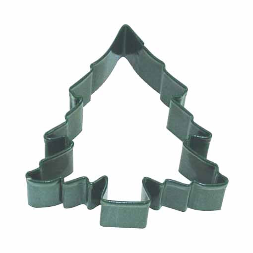 Large Green Christmas Tree Cookie Cutter, 13cm