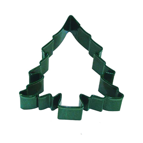 Green Christmas Tree Cookie Cutter, 8.9cm