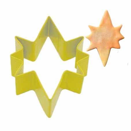 Star Of Bethlehem Cookie Cutter, 3.5""