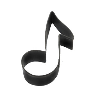 Black Music Note Cookie Cutter, 3.5""