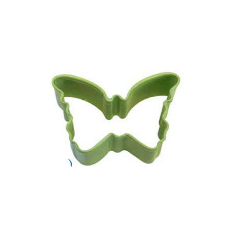 Mini Green Butterfly Cookie Cutter, 4.5cm