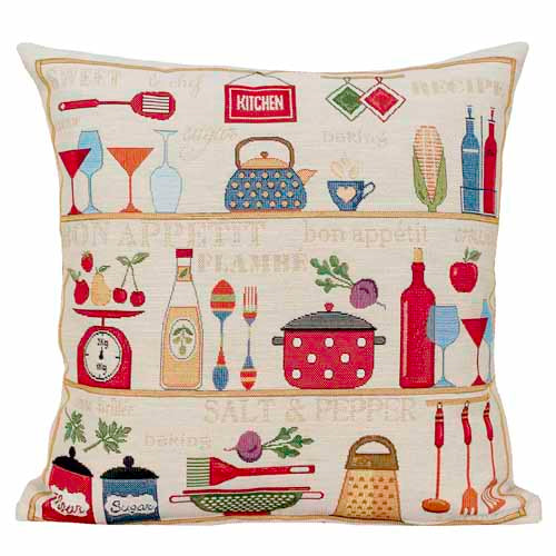 Kitchen Stuff Poly Filled Cushion, 45cm